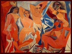 art-picasso-les-demoiselles-davignon-1907-300x225
